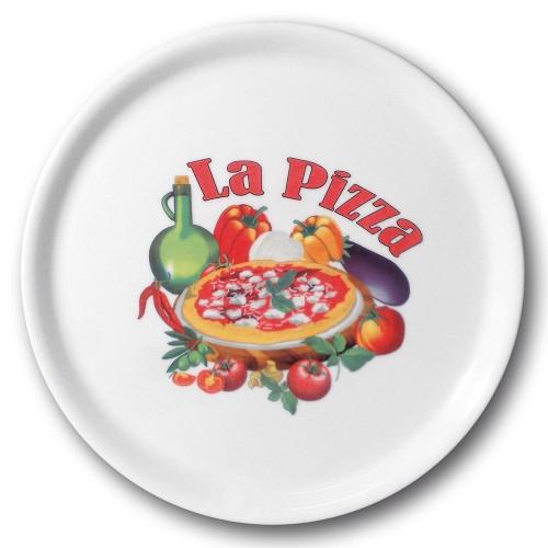 Assiette à pizza Vérone - D 31 cm - Napoli