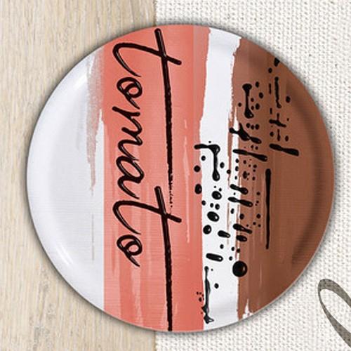 Lot de 6 assiettes à pizza Tomato - D 31 cm - Napoli