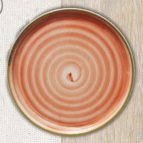 Lot de 6 assiettes à pizza Circus Orange - D 31 cm - Napoli