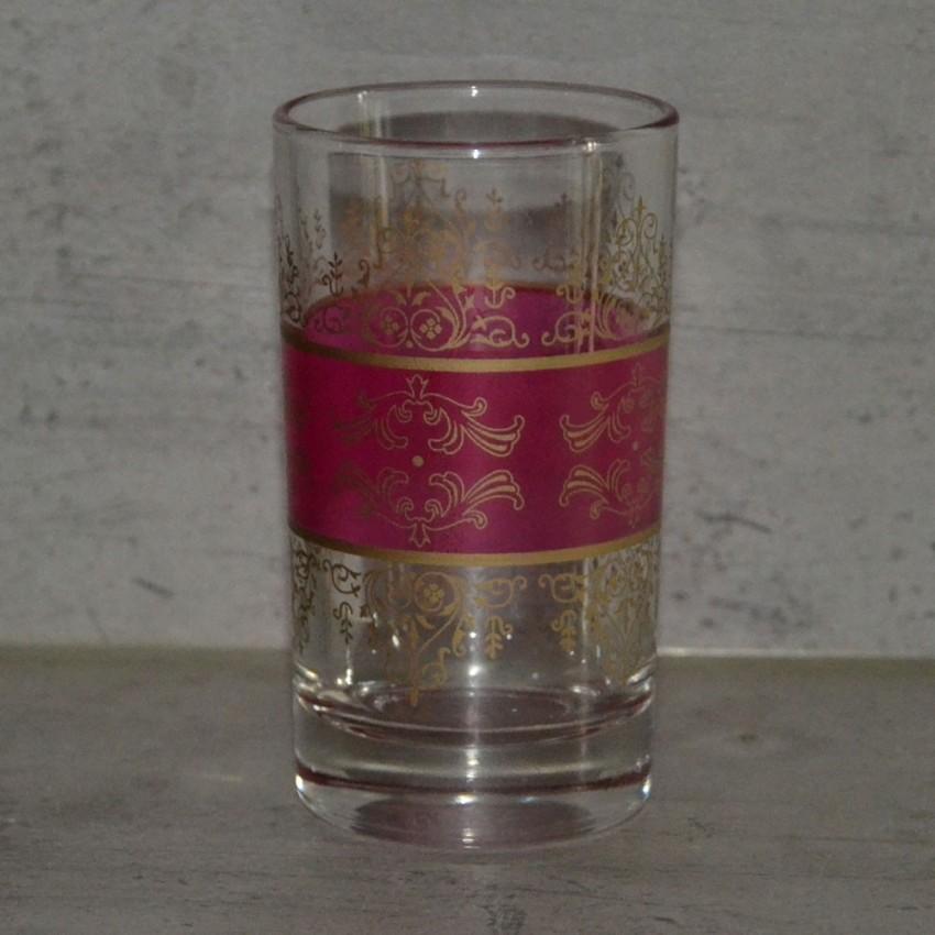 Verres à thé Shéhérazade Rose x 6