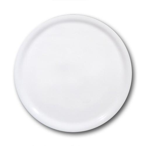 Assiette à pizza porcelaine blanche - D 35 cm