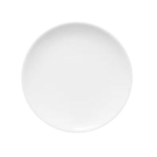 Lot de 6 assiettes à dessert porcelaine blanche - D 21 cm - Siviglia