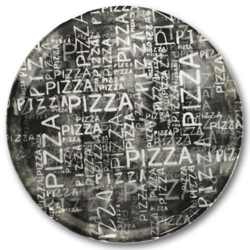 Assiette à pizza Black & White- D 31 cm