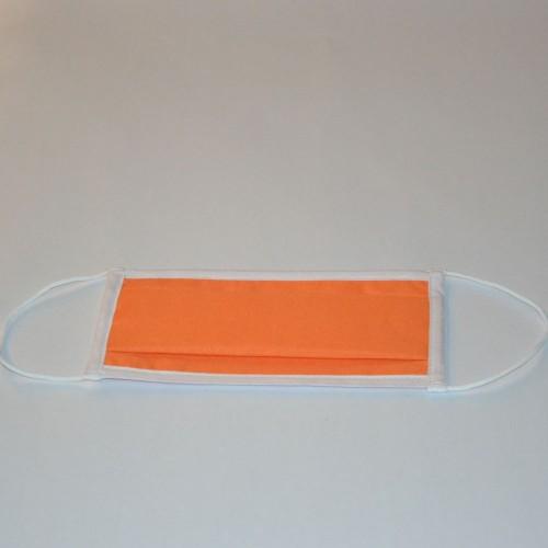 Masque en tissu aux normes UNS1 orange clair