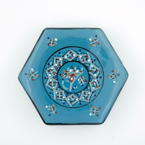 Dessous de plat Marrakech Bleu