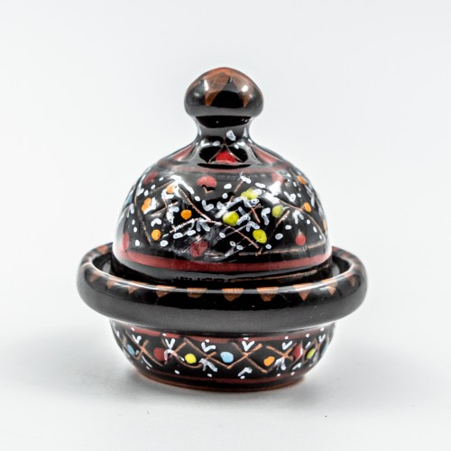 Mini tajine Multifonction - Marrakech Noir - D 8 cm