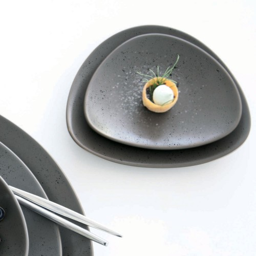 Petite assiette Cuba Marron - D 16 cm