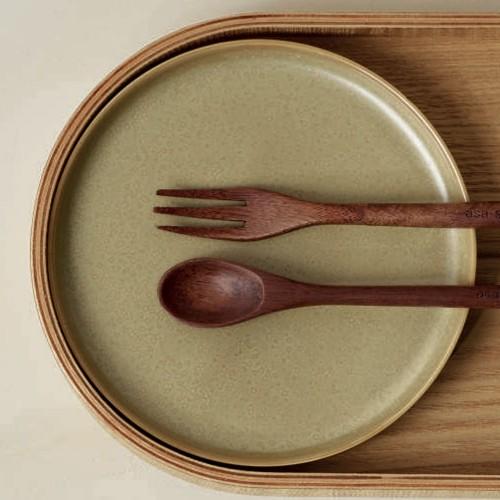 Assiette plate Coppa Miso - D 26.5 cm