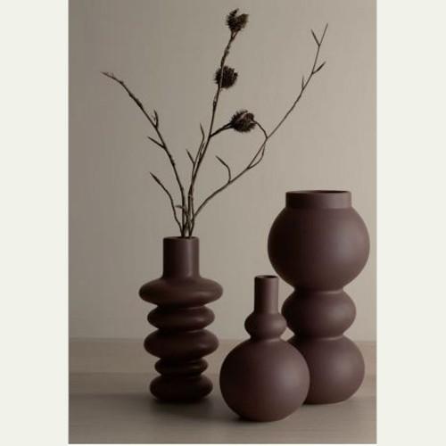 Vase Como Mocha 5 Sphères - H 18 cm