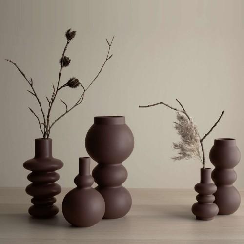 Vase Como Mocha 3 Boules- H 19 cm