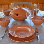 Assiette creuse Carthage - D 24 cm