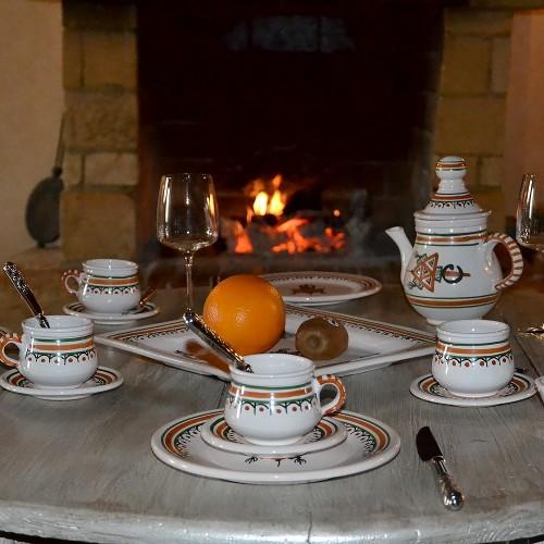 Service à café Sahel beige
