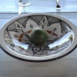 Service à couscous assiettes jattes Marocain noir - 12 pers