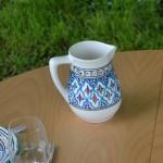 Cruche à eau Bakir turquoise 1L