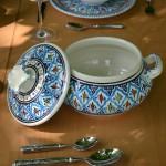 Soupière Bakir turquoise