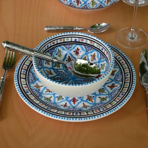 Bol Bakir turquoise - D 16 cm