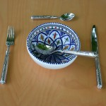 Bol Bakir bleu - D 16 cm