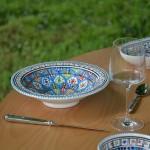 Service à couscous assiettes Tebsi Bakir Royal - 8 pers