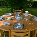 Service à soupe Bakir turquoise - 12 pers