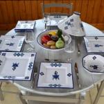 Assiette carrée Jileni - Diam 20 cm