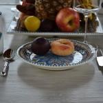 Service à dessert Bakir turquoise - 12 pers