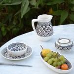Cruche à eau Bakir gris 1L