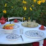 Plat à tarte Bakir gris