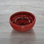 Bol Tatoué rouge - D 15 cm