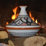 Tajine Marocain color - D 31 cm