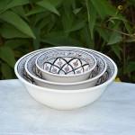 Coupelle Bakir gris - D 15 cm