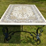 Table de salle à manger Tapis persan