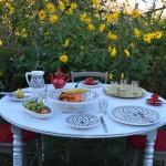 Service à dessert Bakir gris - 12 pers