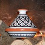 Tajine individuel de cuisson Bakir Gris - D 23 cm