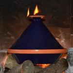Tajine Spécial Feu Bleu nuit - D 30 cm