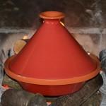 Tajine Spécial Feu Rouge - D 27 cm