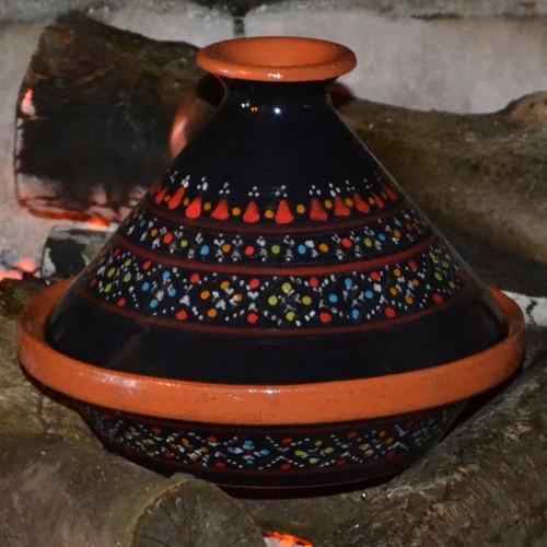 Tajine individuel Marrakech Noir - D 23 cm