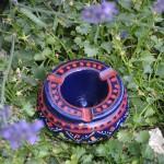 Cendrier Marrakech Bleu nuit - Mini modèle