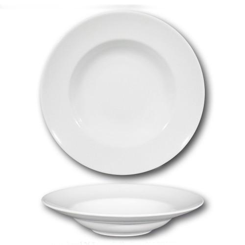 Assiette à pâtes porcelaine blanche - D 26 cm - Napoli