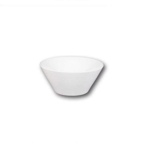Bol conique porcelaine blanche - D 18 cm - Napoli