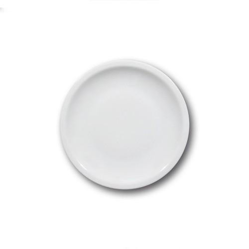 Lot 6 assiettes à dessert porcelaine blanche - D 20 cm - Roma