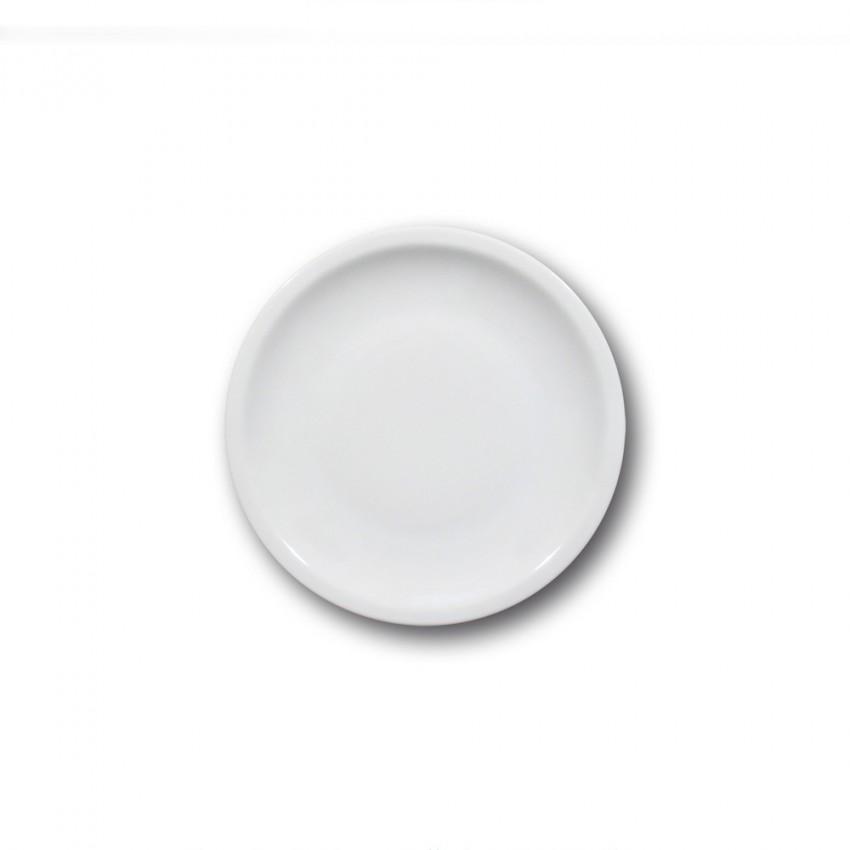 Lot de 6 assiettes à dessert porcelaine blanche - D 19 cm - Roma