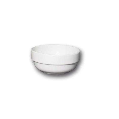 Assiette carrée porcelaine blanche - L 20 cm - Kimi