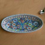 Plat ovale Bakir Royal - L 50 cm