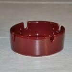Lot 3 cendriers originaux rouge, noir et beige
