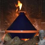 Tajine Spécial Feu Bleu nuit - D 27 cm