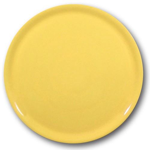 Assiette à pizza Jaune - D 31 cm - Napoli