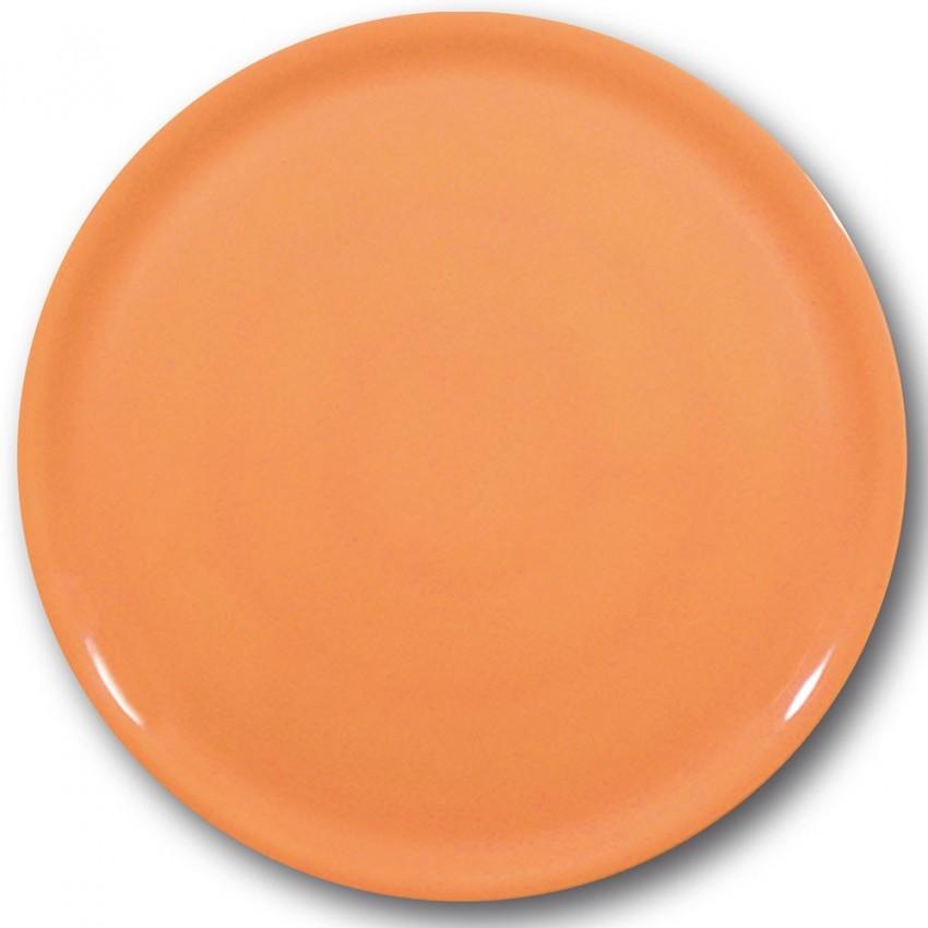 Lot de 6 assiettes à pizza Orange - D 31 cm - Napoli