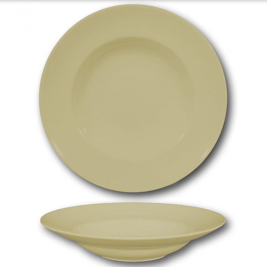 Assiette à pâtes crème - D 26 cm - Napoli