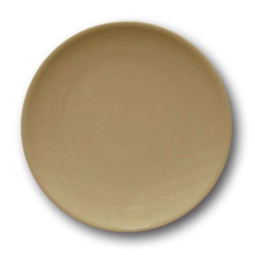 Assiette à entrée et à dessert couleur Marron - D 21 cm - Siviglia