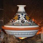 Tajine de cuisson Warda - D 31 cm traditionnel